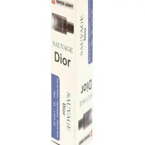 عطر جیبی مردانه ساواج دیور سوئیس ارمی Dior Sauvage 35 ml
